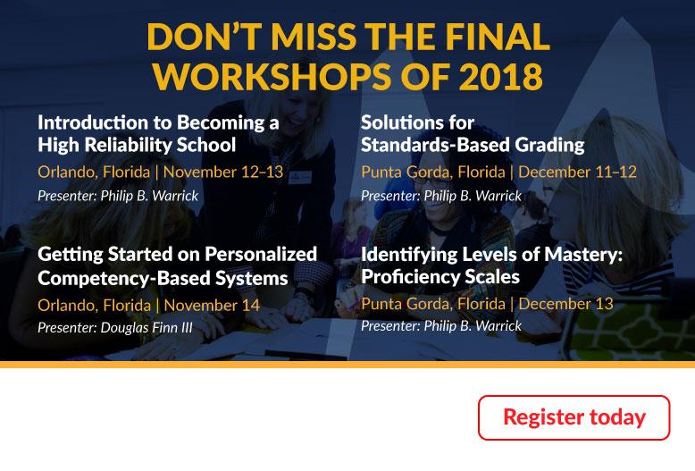 November December Workshops