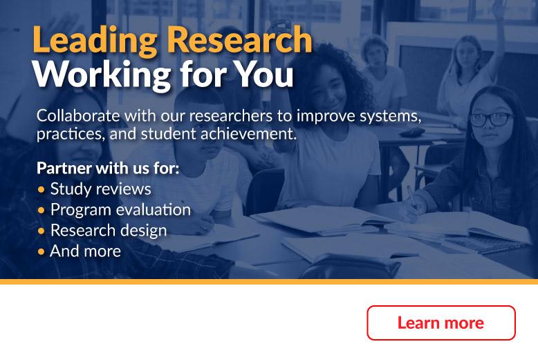 Marzano Research Department