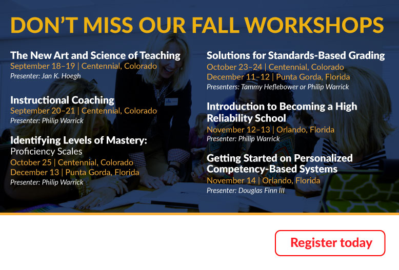 Fall Workshops