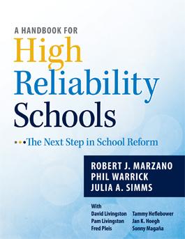 A Handbook for High Reliability Schools