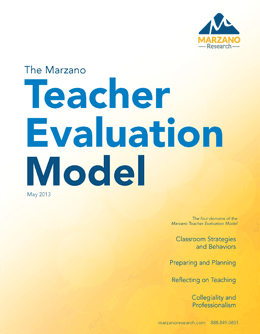 The Marzano Teacher Evaluation Model