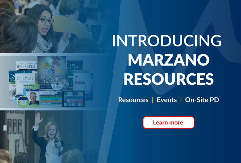 Introducing Marzano Research Slider