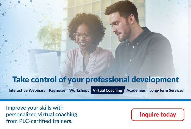 Take control of your professional development with Virtual Coaching