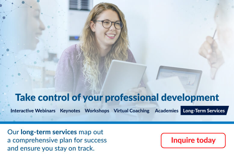 Take control of your professional development with Long-Term Services