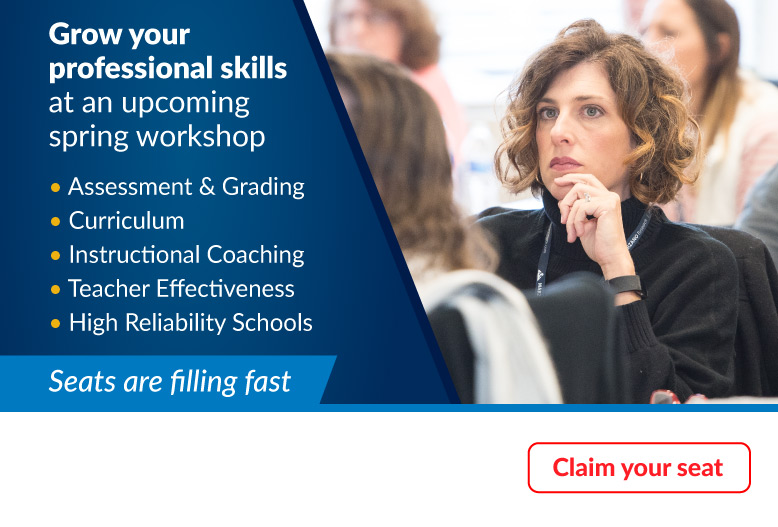 Grow your professional skills at an upcoming workshop