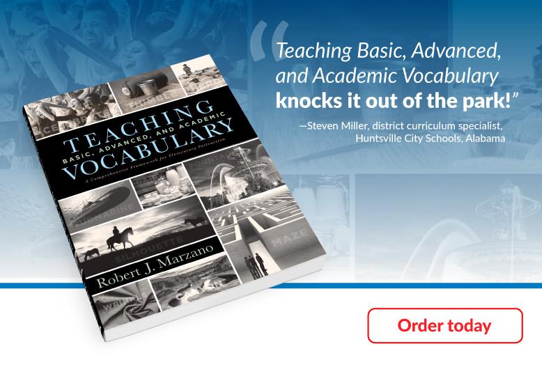 Teaching Basic, Advanced and Academic Vocabulary
