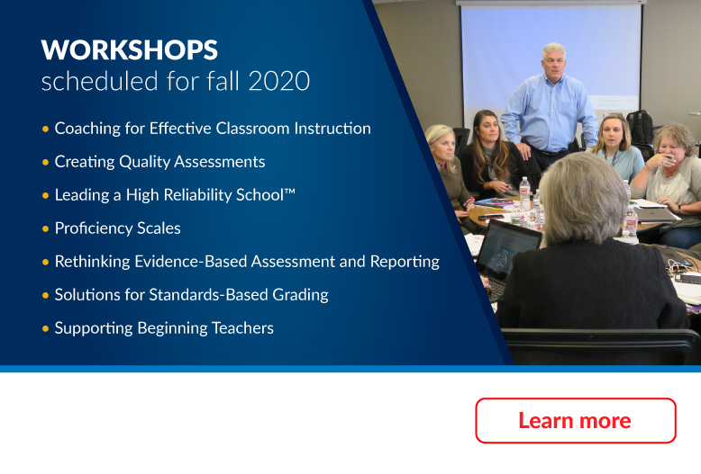 Workshops scheduled for fall 2020