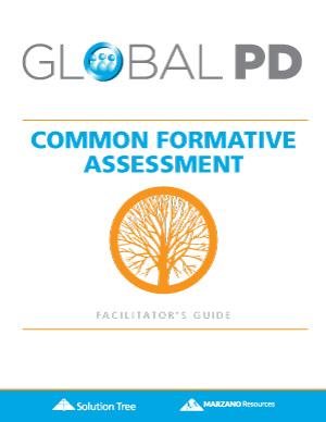 Common Formative Assessment Facilitator's Guide cover