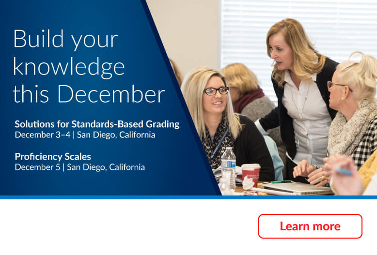 Build your knowledge this November with Marzano workshops