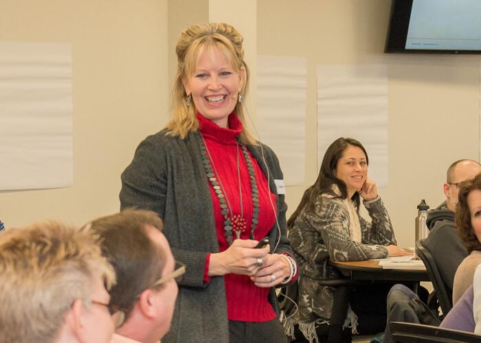 Tammy Heflebower during workshop