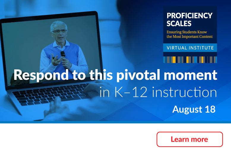 Proficiency Scales Virtual Institute