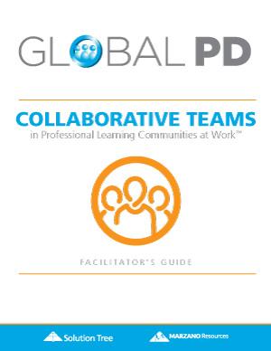 Collaborative Teams in a PLC at Work Facilitators Guide cover
