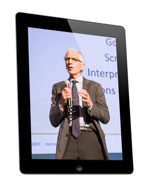 Dr. Marzano speaks during keynote