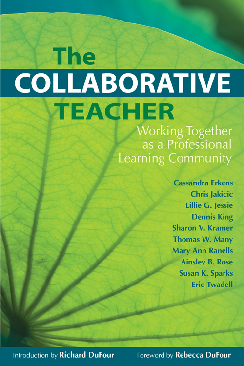 Collaborative Teaching Websites ~ Solution tree professional learning communities at work