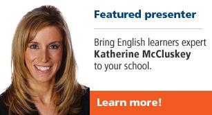 Featured presenter Katherine McCluskey